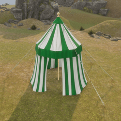 Tent Single Pole Green