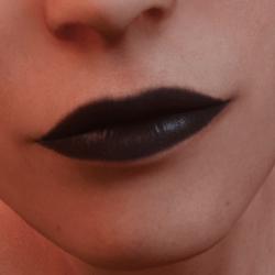 Daphne Black Lipstick