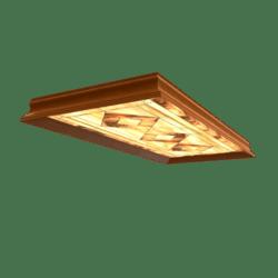 Oakwood Fluorescent Lamp