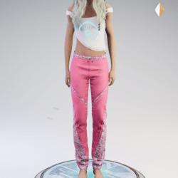 Fran pants pink