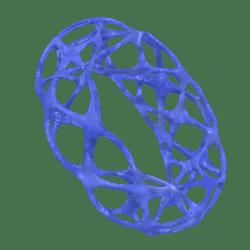 Female Voronoi Bracelet