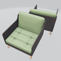 Chronicle Lounge Chair Green