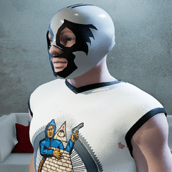 Male Luchadors Mask Ver1