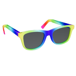Glowing Rainbow Glasses male 2.0