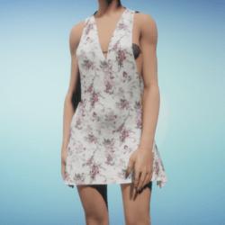 Bold Flower Dress
