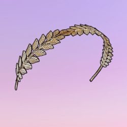 Autumnization Leaves Headband Gold