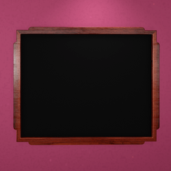 Wood Cherry Frame