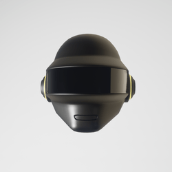 Daft-Pank Helmet Thomas (matte black)