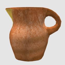 Jug made of clay