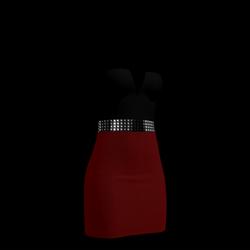 80's Day-Glow Club Dress 12