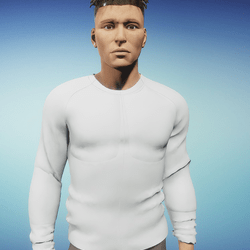 FREE Untextured Male Shirt (for testing)