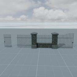 Park Walls Set
