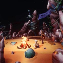 ~SALE~ Campfire prefab; complete finished world set