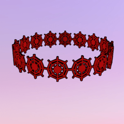 Netty Crown Red