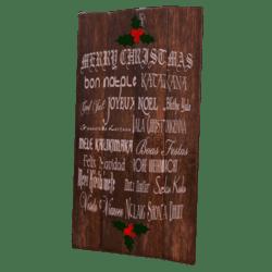 Christmas Decoration Pannel