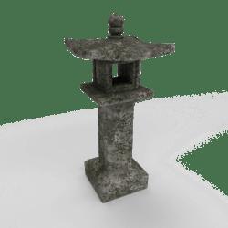 Japanese stone lantern [A]