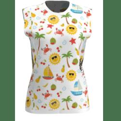 Summer Holidays -Sleeveless T-shirt