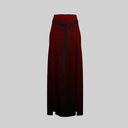 Skirt Briana Gradient Red 2.0