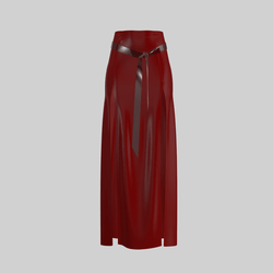 Skirt Briana Vinyl Red 2.0