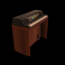 Retro Organ Console