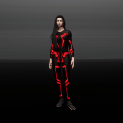 Sentry Grid Suit (F)