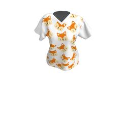 Ladies CuteFox- T-shirt
