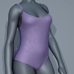 Body Swimsuit - Purple