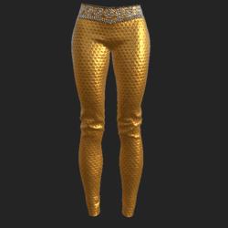 Ucci pants golden