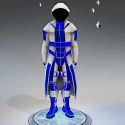 Sci-Fi Character-Blue