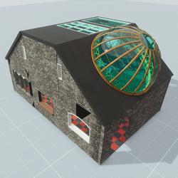 Steam Punk Building 3