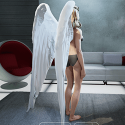 Majestic Angel Wings - Female