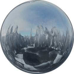 Icescape Glass Top Skybox