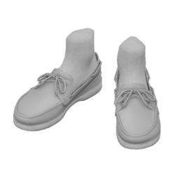 Boat shoes_light gray