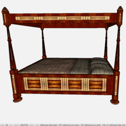 Four Poster Bed 02