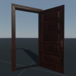 Door Panel Single (C16R)