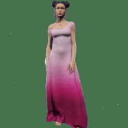 Gown Pink Gradient