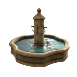 French Water Fountain