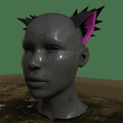 Neko Ears - Black and Pink