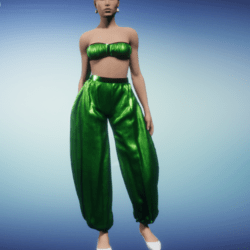 harem outfit_grass