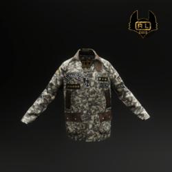 R.L.ARMY DECO LIGHT LONG JACKET