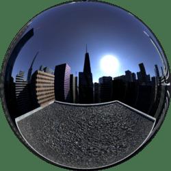 City Rooftop Fog Skybox
