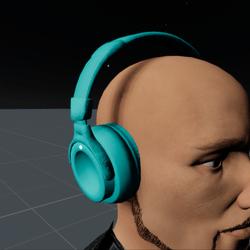 Headphones Aquamarine M