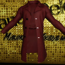 Male Red Suede Jacket