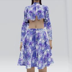 Poncho Shirt and Skirt (TM)
