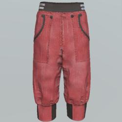 Pants short unisex DR