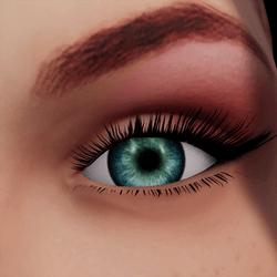 Angela Add-On Eyes - Laggon Blue