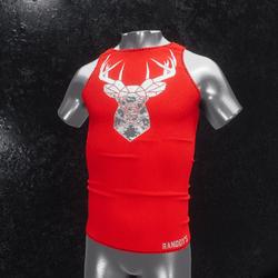Sleeveless Shirt deer red