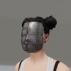 shhhhh mask (womens)