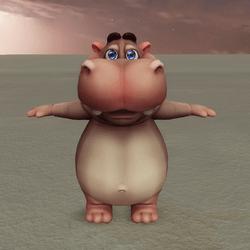 Hippo that makes Flip