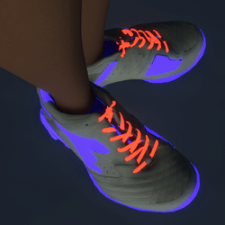 Emissive Glow Sneakers (female)